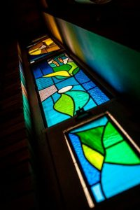 rivereast church window pane